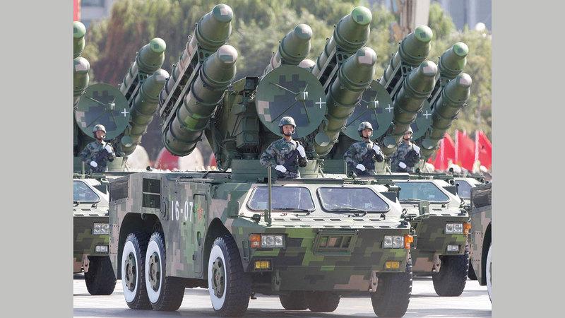 الصين أحرزت تقدماً كبيراً في تقنيات الصواريخ.  أرشيفية