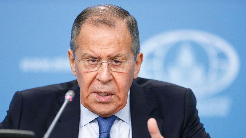 سيرغي لافروف: موسكو تسعى للتسوية.   أرشيفية