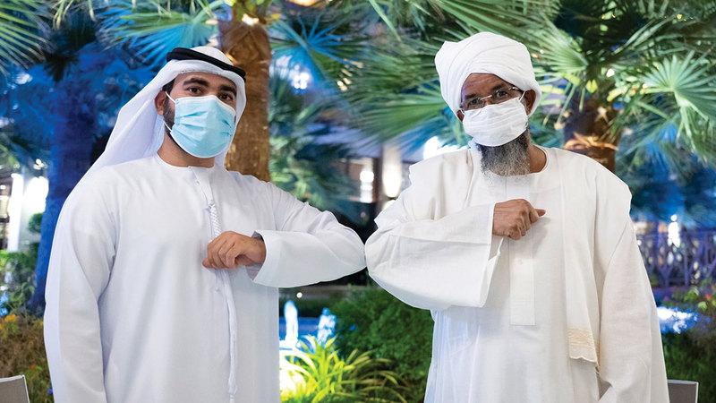 الرقيب أحمد الحمادي وزين العابدين. من المصدر