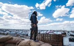 الصورة: «قسد» تنفّذ حملة أمنية ضد عناصر «داعش» شمال شرق سورية