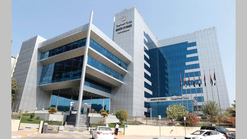 وزارة المالية تفوقت في تقديم خدماتها وبكفاءة عالية.  أرشيفية