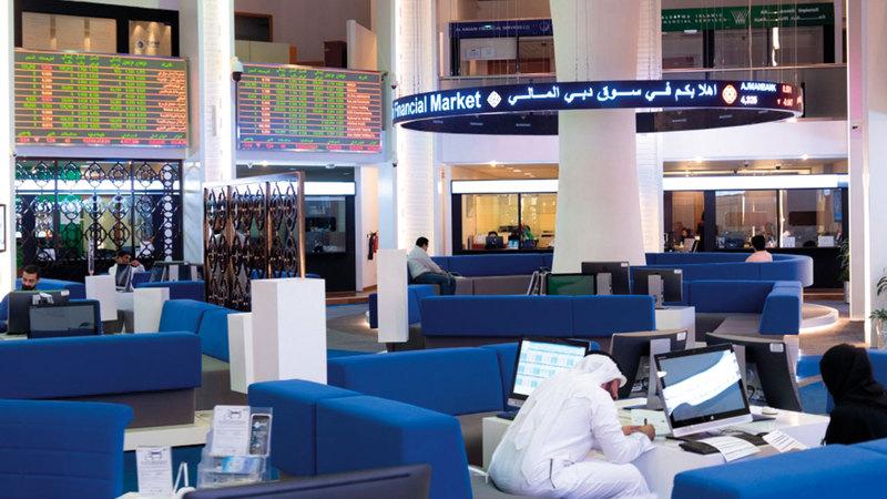 المؤشر العام لسوق دبي المالي ارتفع بنسبة 2.1%.   أرشيفية