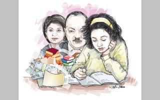 الصورة: «أبوجنى» يحتاج 19.8 ألف درهم متأخرات دراسية وإيجارية