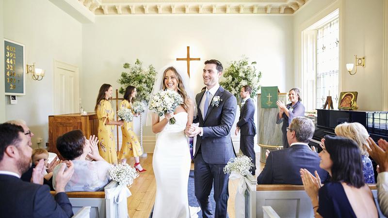 الحفلات التقليدية مكلفة لكلا العروسين.   أرشيفية