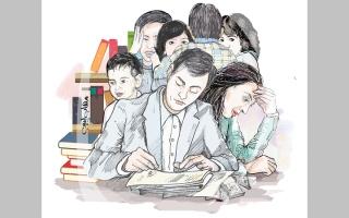 الصورة: «أبوعامر» يحتاج 33.8 ألف درهم متأخرات دراسية وإيجارية