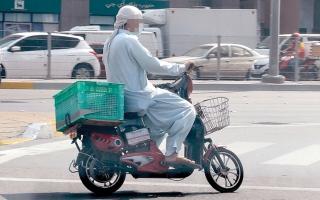 الصورة: لقطة.. درّاجات كهربائية