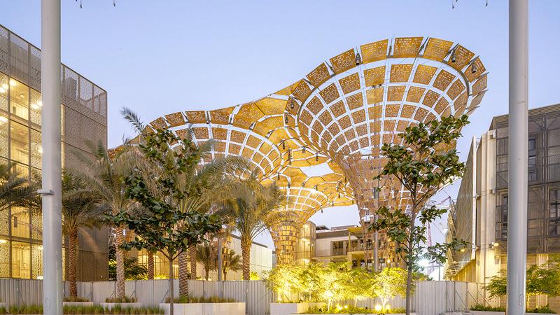 «إكسبو 2020 دبي» حصل على الشهادة من منظمة «سنسوري أكسيس» الدولية.   الإمارات اليوم