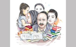 الصورة: «أبوإسماعيل» يعجز عن سداد متأخرات دراسية لأبنائه