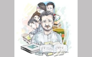 الصورة: «أبوعلي» يحتاج 49.8 ألف درهم لسداد متأخرات دراسية وإيجارية
