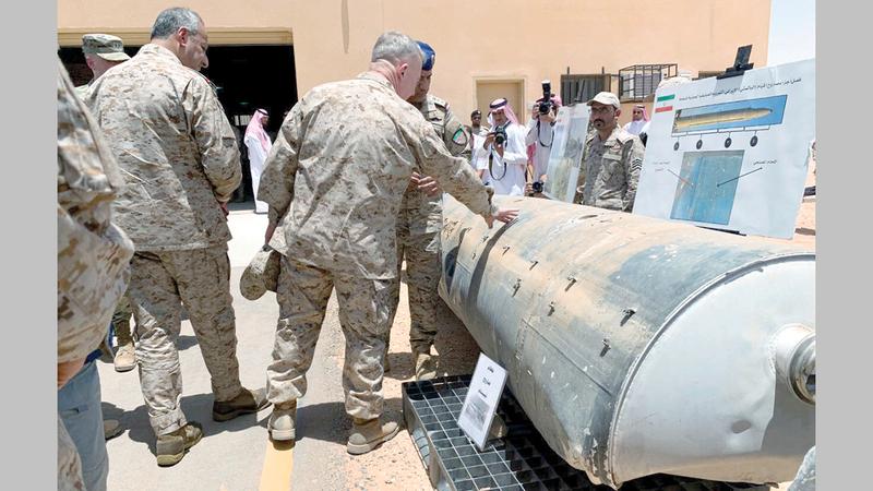 يُرجح أن تكون الطائرات المسيّرة والصواريخ المتطورة التي تستخدمها ميليشيات الحوثي قد جاءت من النظام الإيراني.   رويترز
