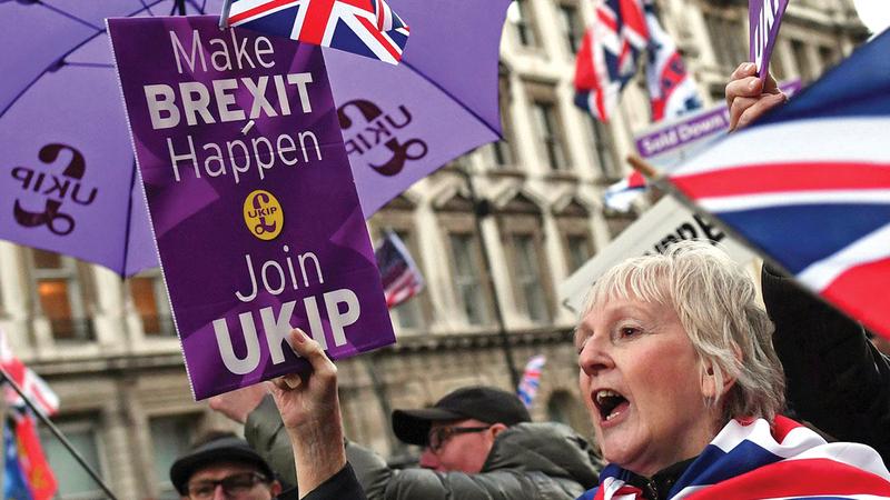 البريطانيون بحاجة إلى استيعاب الواقع الجديد.   أرشيفية
