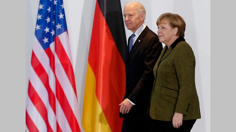 واشنطن طلبت من ألمانيا التخلي عن خط الغاز الروسي «نورد ستريم». À أرشيفية