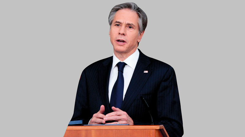 بلينكن انتقد حلفاء أميركا في الاجتماع الأخير لـ(الناتو).  أرشيفية