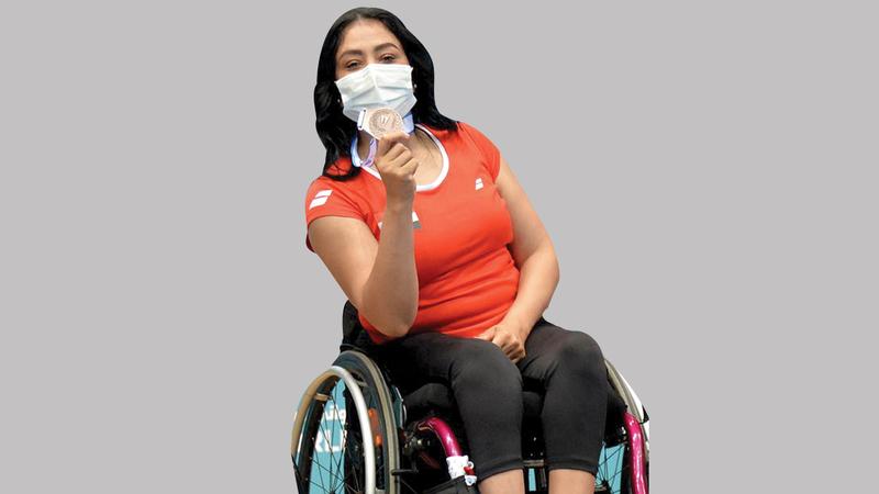 المصرية شيماء سامي.  من المصدر