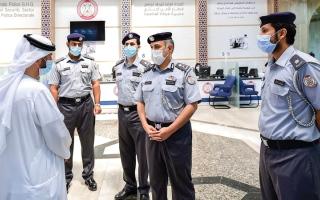 الصورة: شرطة أبوظبي تعزّز الأمن بأفضل الممارسات