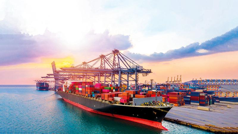 مساهمة الصادرات في التجارة زادت خلال الربع الثالث بنسبة 40.8% مقارنة بالربع الثاني 2020.أرشيفية