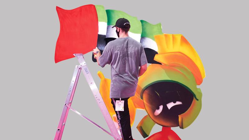 يستمر المعرض أربعة أيام ويقدّم مجموعة متنوّعة من الفعاليات الفنية وورش العمل.  من المصدر