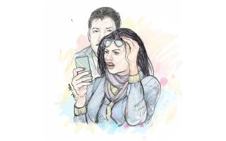 الصورة: محتال يستدرج امرأة عبر موقع إلكتروني بإعلان وهمي