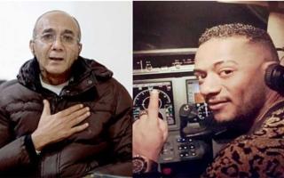 الصورة: القضاء يلزم محمد رمضان بدفع 6 ملايين جينيه لكابتن الطائرة أبو اليسر