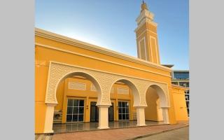 الصورة: افتتاح مسجد «ذو النورين» في «جميرا سيركل»