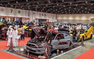 الصورة: معرض «السيارات المعدّلة» ينطلق في مركز دبي التجاري العالمي