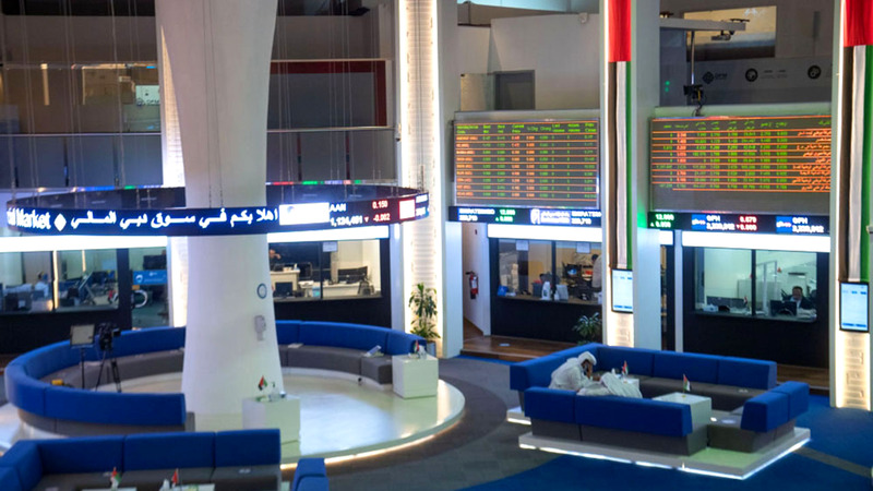 مؤشر سوق دبي المالي أغلق عند 2582.87 نقطة.  أرشيفية