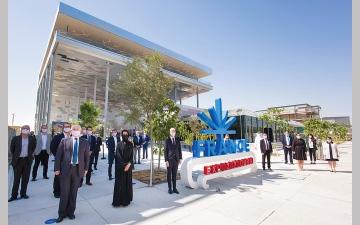 الصورة: إنجاز «جناح فرنسا» في معرض «إكسبو 2020 دبي» قبل 5 أشهر من انطلاقه