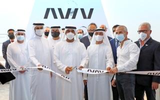 الصورة: أحمد بن سعيد يفتتح عيادات أفيف الطبية في دبي