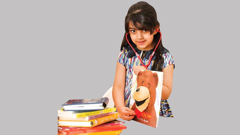 الظبي المهيري تمكنت بدعم والديها من تطوير فكرتها.  من المصدر