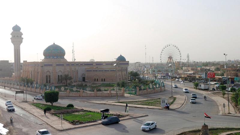 محافظة الأنبار ازدهرت بفضل جهود أبنائها.   أرشيفية