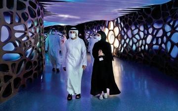 الصورة: حمدان بن محمد: وعدنا قيادتنا والعالم بأفضل دورة في تاريخ «إكسبو 2020 دبي»