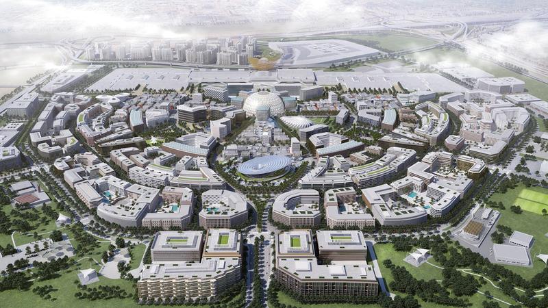 الحدث الدولي المرتقب يتزامن مع الذكرى الـ50 لتأسيس دولة الإمارات.  أرشيفية
