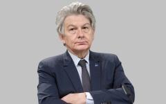 الصورة: إنترفيو.. تييري بريتون: الاتحاد الأوروبي الوحيد الذي يقدم دعماً سخياً باللقاحات