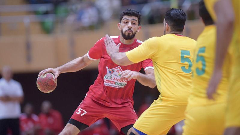 اللاعب السعودي مجتبى آل سالم.  من المصدر
