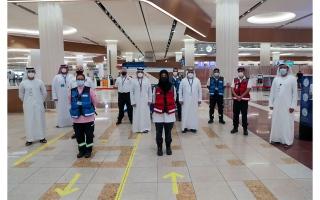 """الصورة: """"الإسعاف الوطني"""" يطلع على أفضل الممارسات والخدمات لدى """"إسعاف دبي"""""""