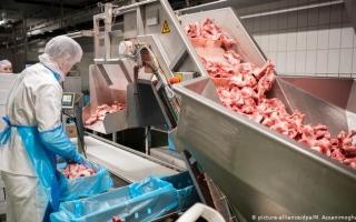 الصورة: بدء إضرابات في قطاع صناعة اللحوم بألمانيا