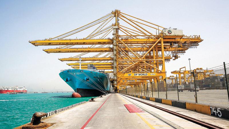 «موانئ دبي العالمية» تدعم استراتيجية الأمن الغذائي الخاصة بتسهيل تجارة الغذاء. من المصدر