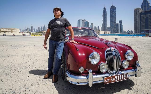 الصورة: بالفيديو.. جاكوار 1963 تسترجع ملامحها الأصلية في دبي