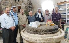 الصورة: معصرة «إقنيبي» بالخليل.. 850 عامــــاً شاهدة على الهوية الفلسطينية