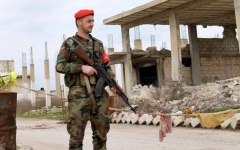 الصورة: سورية تنفي تقريراً عن استخدام قنبلة غاز الكلور
