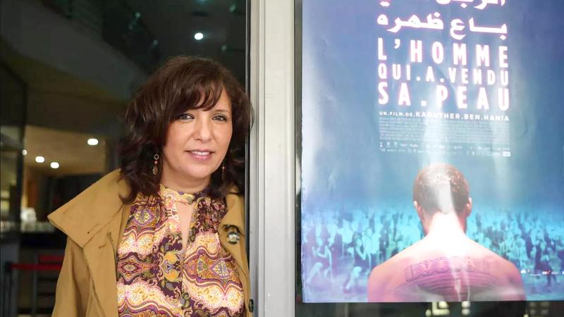 تبتعد المخرجة التونسية كوثر بن هنية في هذا العمل عن تونس لتغوص في عوالم مختلفة.  أ.ف.ب