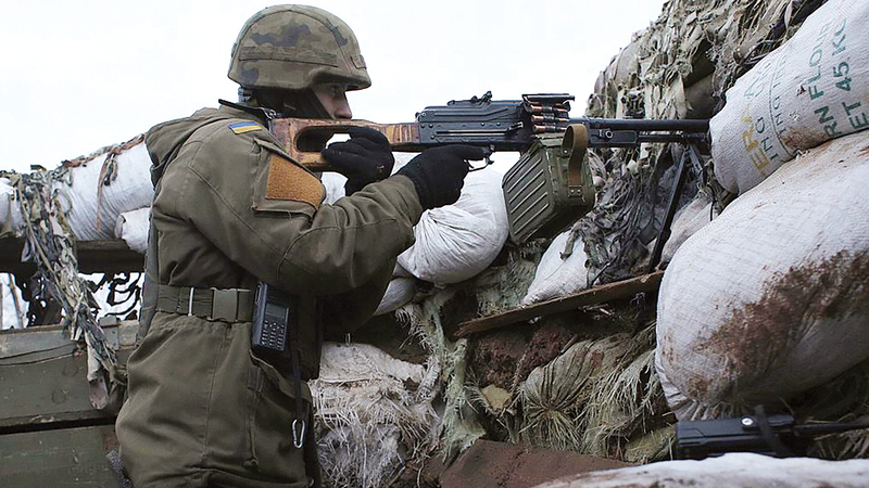درجة التوتر ترتفع من جديد في شرق أوكرانيا حيث يشير المعلقون إلى أن عمليات عسكرية كثيفة ربما ستبدأ قريباً.  أرشيفية
