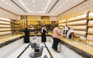 الصورة: تجار: غياب المحفزات والأسعار المرتفعة يخفضان الطلب على الذهب