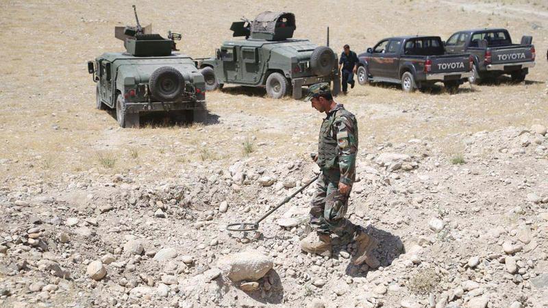 الألغام في أفغانستان تقتل وتصيب العشرات من المواطنين سنوياً.   أرشيفية