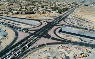 افتتاح مشروع «محور الخوانيج» لتعزيز الربط بين دبي والشارقة