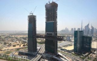 مشروع تحت الإنجاز.. «A».. برج على ارتفاع 304 أمتار في قلب دبي