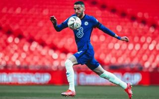 الصورة: المغربي حكيم زياش يهدي الكرة العربية إنجازاً تاريخياً في كأس إنجلترا