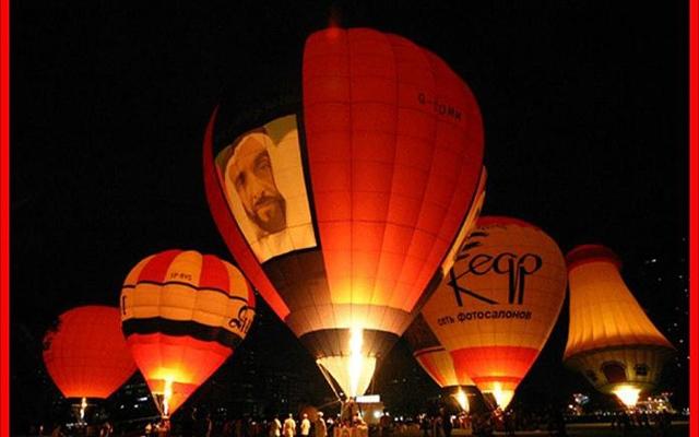 الصورة: ضمن مشاركته في احتفالات الـ 50 .. «منطاد علم الإمارات» ينطلق في نوفمبر
