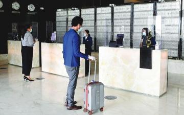 الصورة: إشغال الشقق الفندقية في دبي يصل إلى معدلات ما قبل «الجائحة»