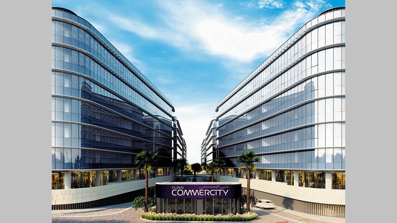 «دبي كوميرسيتي» أول منطقة حرة للتجارة الإلكترونية في منطقة الشرق الأوسط وإفريقيا وجنوب آسيا.   من المصدر